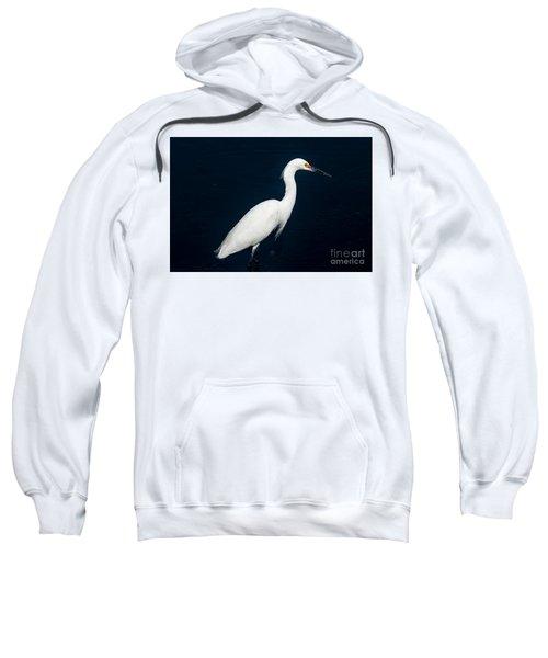 Snowy White Egret Sweatshirt