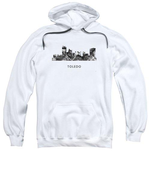 Toledo Ohio Skyline Sweatshirt by Marlene Watson