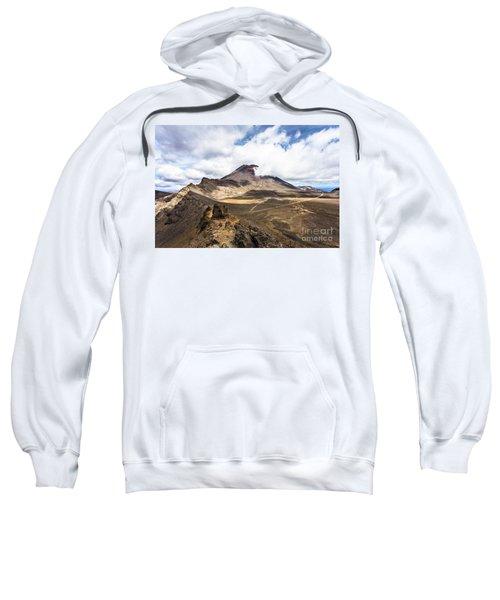 Tongariro Alpine Crossing In New Zealand Sweatshirt