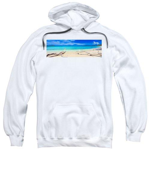 Tropical Beach Malcapuya Sweatshirt