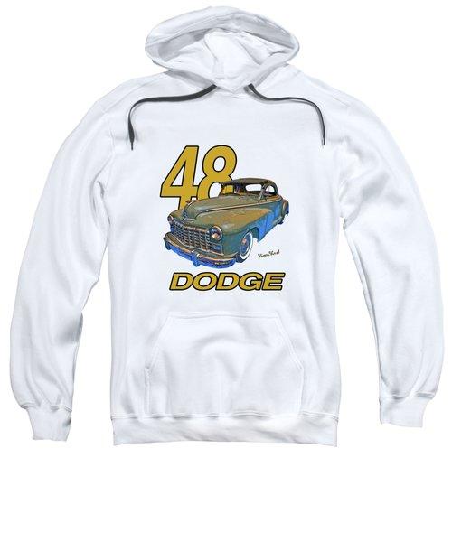 48 Dodge 3 Window Business Coupe Sweatshirt