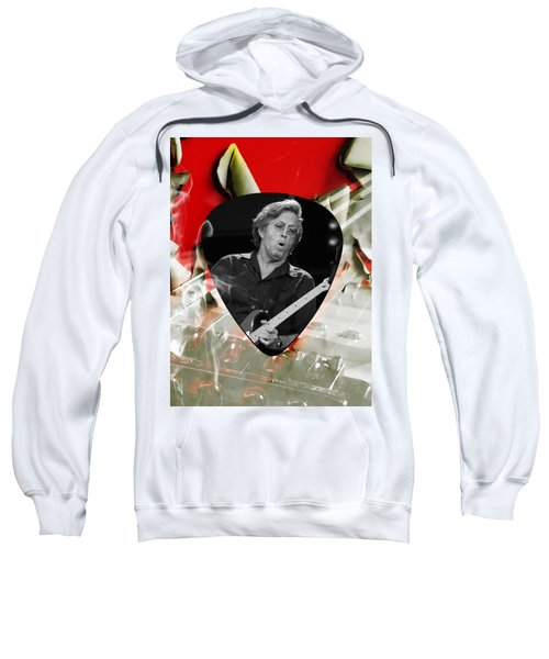Eric Clapton Art Sweatshirt by Marvin Blaine