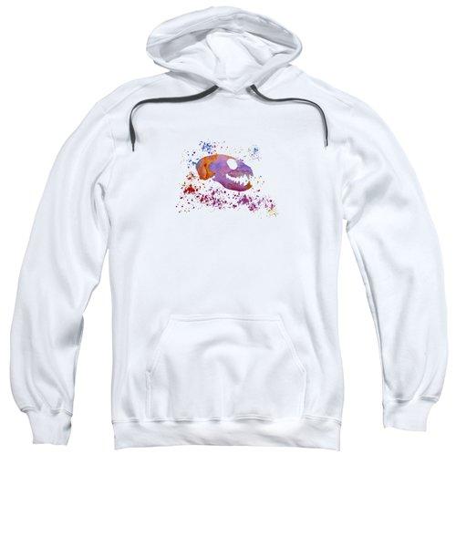 Meerkat Skull Sweatshirt