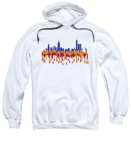 New York Ny Skyline Sweatshirt