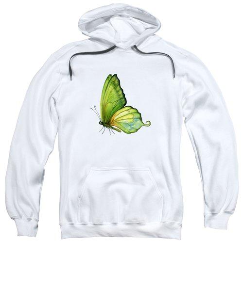 5 Sap Green Butterfly Sweatshirt