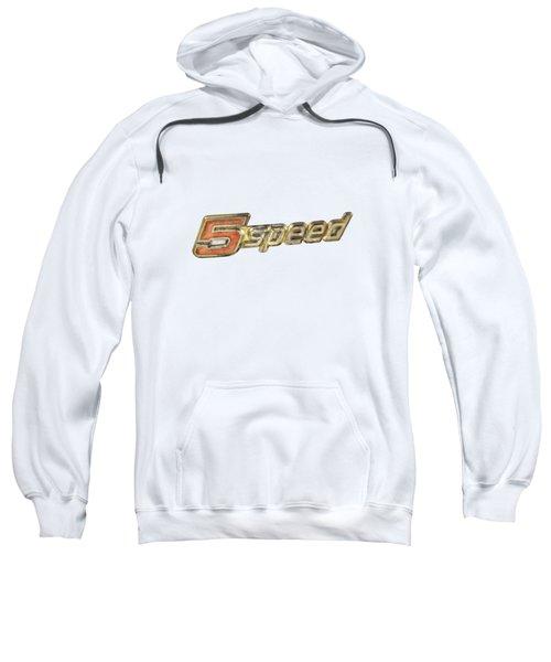 5 Speed Chrome Emblem Sweatshirt
