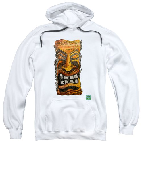 Tiki Art Sweatshirt
