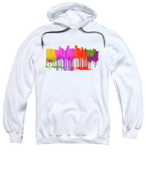 Anchorage Alaska Skyline Sweatshirt