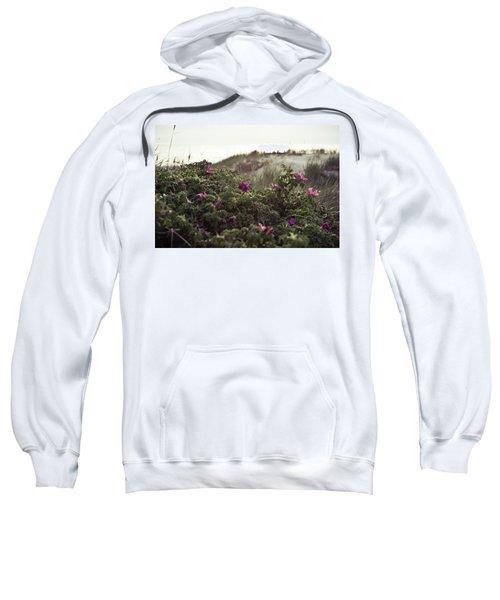 Rose Bush And Dunes Sweatshirt