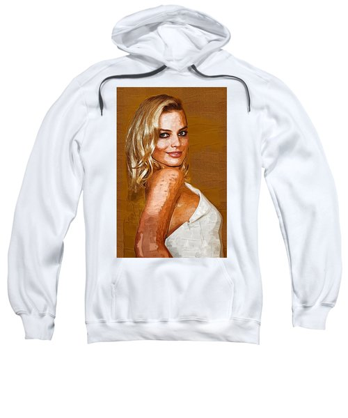 Margot Robbie Art Sweatshirt by Best Actors