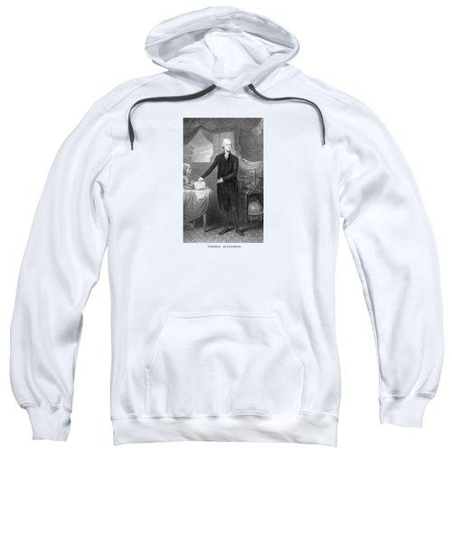 Thomas Jefferson Sweatshirt by War Is Hell Store