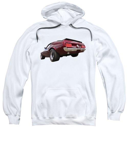 '69 Mustang Rear Sweatshirt