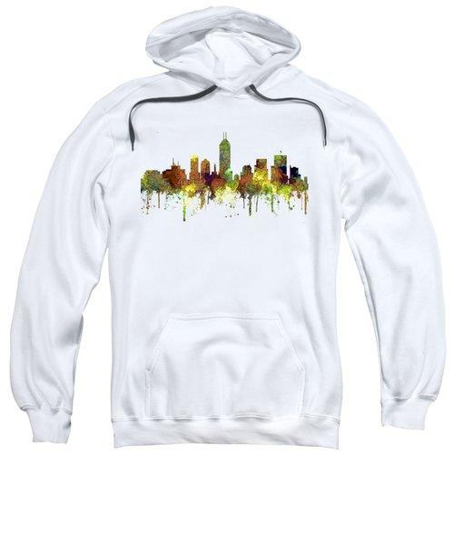 Indiana Indianapolis Skyline Sweatshirt