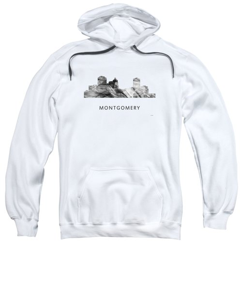 Montgomery Alabama Skyline Sweatshirt by Marlene Watson