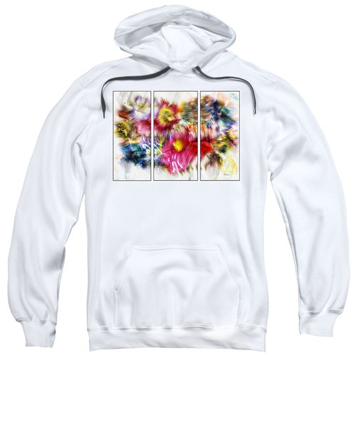 7c Abstract Expressionism Digital Painting Sweatshirt