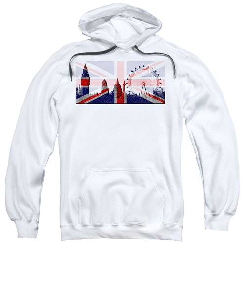 London Skyline Sweatshirt by Michal Boubin