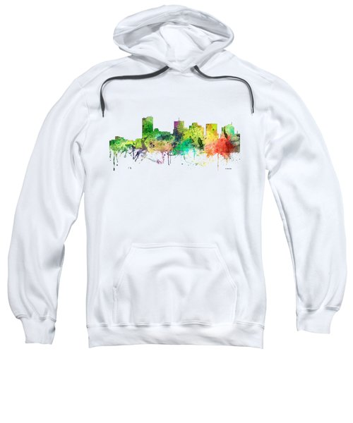 Phoenix Arizona Skyline Sweatshirt by Marlene Watson