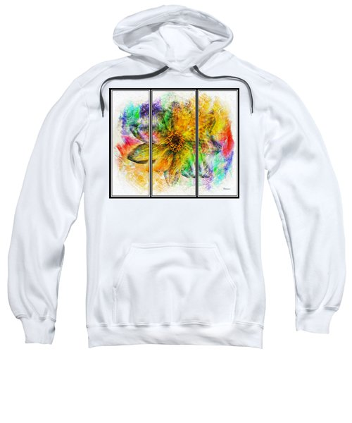 8b Abstract Expressionism Digital Painting Sweatshirt
