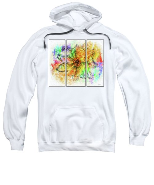 8c Abstract Expressionism Digital Painting Sweatshirt
