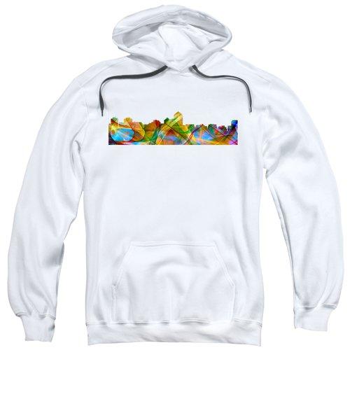 Albuquerque New Mexico Skyline Sweatshirt