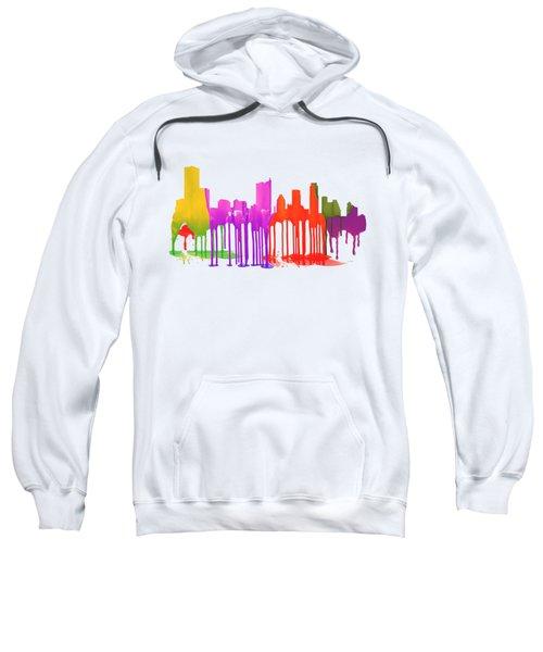 Austin Texas Skyline Sweatshirt