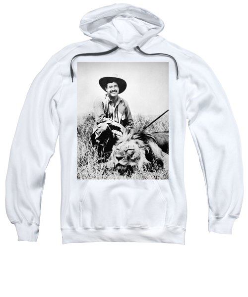Ernest Hemingway Sweatshirt