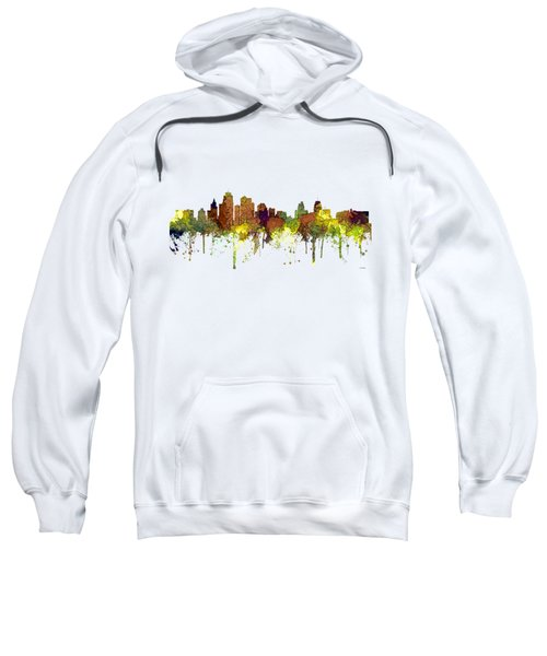 Kansas City Missouri Skyline Sweatshirt
