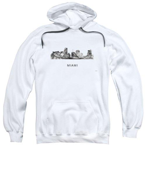 Miami Florida Skyline Sweatshirt