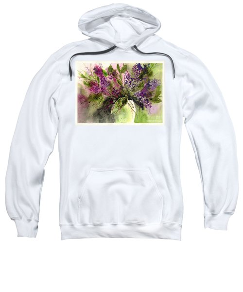 A Bouquet Of May-lilacs Sweatshirt