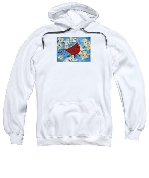 A Cardinal Spring Sweatshirt