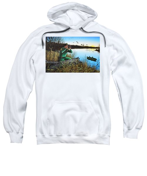A Day At The Office - Icoo Sweatshirt