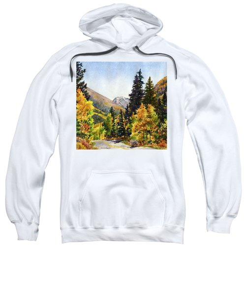 A Drive In The Mountains Sweatshirt