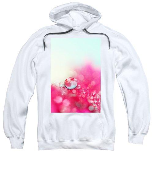 A Drop With Raspberrys And Cream Sweatshirt