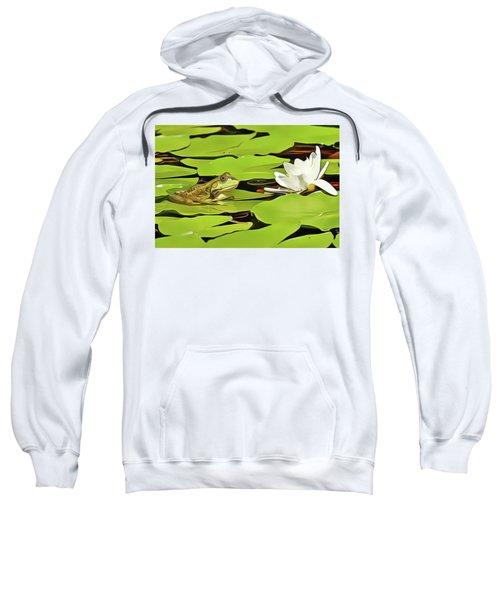 A Frog's Peace Sweatshirt