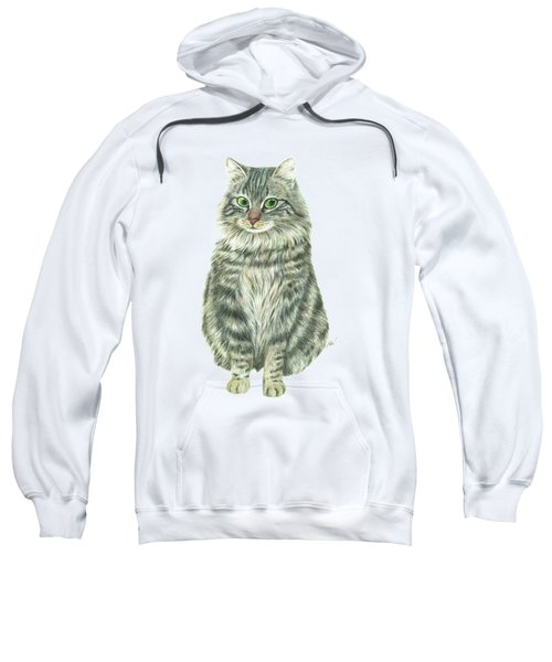 A Furry Cat  Sweatshirt