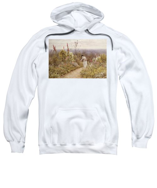 A Garden In October, Aldworth, 1891 Sweatshirt
