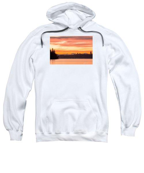A Glaze Of Orange Sweatshirt