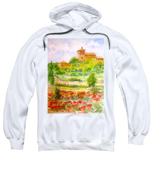 A Hillside Near San Gimignano Sweatshirt