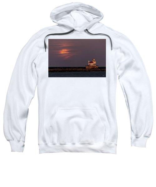 A Moonsetting Sunrise Sweatshirt