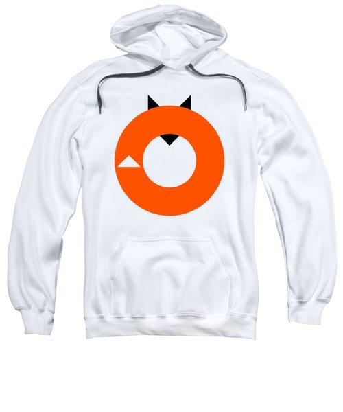 A Most Minimalist Fox Sweatshirt