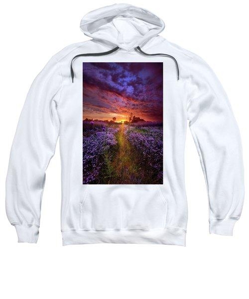 A Peaceful Proposition Sweatshirt