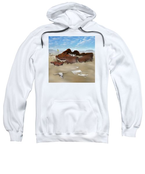 A Slow Death In Piano Valley Sq Sweatshirt by Mike McGlothlen