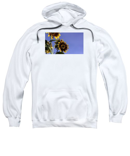 Sweatshirt featuring the photograph A Summer's Day by Lora Lee Chapman