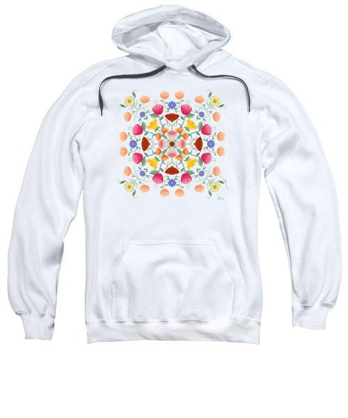 A Symphony Of Dancing Floral Delights Sweatshirt