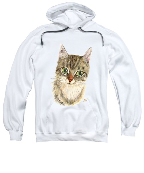 A Thinking Cat Sweatshirt
