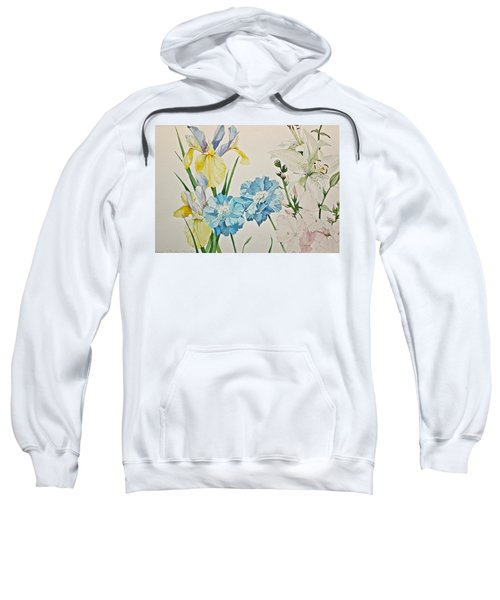 A Variety-posthumously Presented Paintings Of Sachi Spohn  Sweatshirt