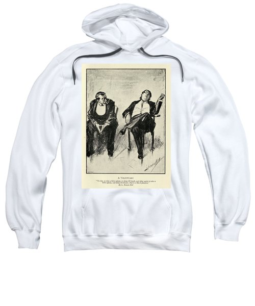 A Voluptuary By L. Raven Hill 1867 To Sweatshirt