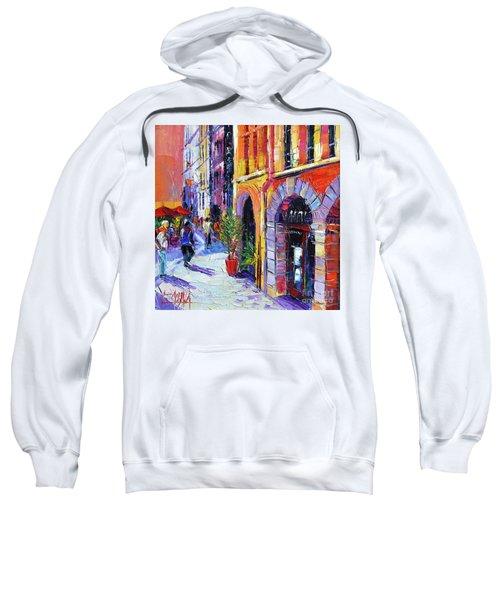 A Walk In The Lyon Old Town Sweatshirt