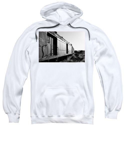 Abandoned Train Cars Sweatshirt