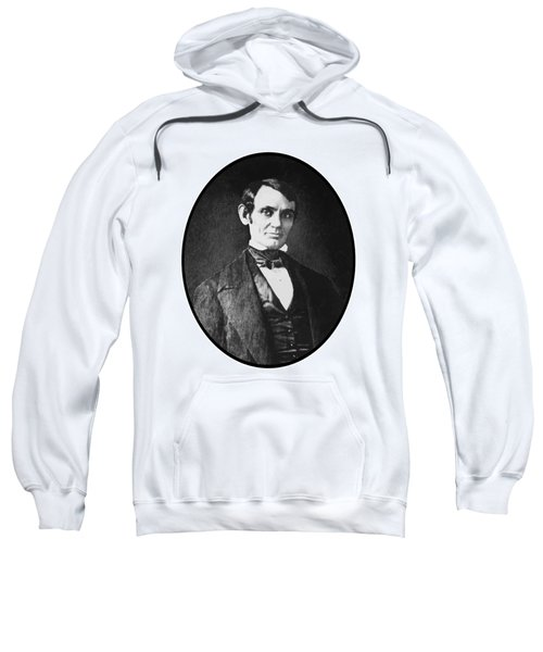 Abe Lincoln As A Young Man  Sweatshirt